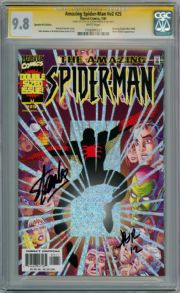 Amazing Spider-man Volume 2 #25 CGC 9.8 Signature Series Signed Stan Lee Romita Jr Marvel